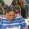 "Students in Associate Professor Dani Sheppard's Psychology 335 class, Brain and Behavior, take their final exam Dec. 17 in the Gruening Building.  <div class=""ss-paypal-button"">Filename: AAR-14-4414-136.jpg</div><div class=""ss-paypal-button-end""></div>"