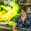 "UAF chemistry professor Cathy Cahill seems to enjoy blowing up balloons filled with hydrogen during a demonstration for her students in a Reichardt Building lab.  <div class=""ss-paypal-button"">Filename: AAR-13-4021-6.jpg</div><div class=""ss-paypal-button-end""></div>"