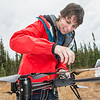 "Students take part in a project using unmaned aerial vehicles (UAVs) at Poker Flat Research Range about 40 miles northeast of the Fairbanks campus. (Note: Taken as part of commercial shoot with Nerland Agency. Pretend class -- use with discretion!)  <div class=""ss-paypal-button"">Filename: AAR-12-3560-027.jpg</div><div class=""ss-paypal-button-end"" style=""""></div>"