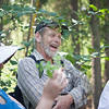 "Gerald Springer is all smiles at a field trip identifying local flora at UAF Summer Sessions and Lifelong Learning's Intro to Flora class June 23, 2012 on campus.  <div class=""ss-paypal-button"">Filename: AAR-12-3454-42.jpg</div><div class=""ss-paypal-button-end"" style=""""></div>"