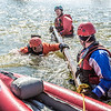 "Staff members and graduate students from the Water and Environmental Research Center (WERC) and the Institute of Northern Engineering (INE) receive swiftwater rescue and safety training in the Chena River.  <div class=""ss-paypal-button"">Filename: AAR-13-3813-122.jpg</div><div class=""ss-paypal-button-end"" style=""""></div>"