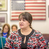 "Misty Savo, on undergraduate from Dillingham, presents testimony before a committee of her peers during a mock legislative hearing as part of a weeklong seminar on understanding the legislative process in Juneau.  <div class=""ss-paypal-button"">Filename: AAR-14-4056-101.jpg</div><div class=""ss-paypal-button-end"" style=""""></div>"
