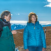 "Donie Bret-Harte, associate science director at UAF's Toolik Field Station, explains some of the research efforts underway near the arctic facility with U.S. Senator Lisa Murkowski during a brief tour in Sept. 2013.  <div class=""ss-paypal-button"">Filename: AAR-13-3929-328.jpg</div><div class=""ss-paypal-button-end""></div>"