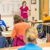 """Amy Cooper lectures to her intermediate accounting students in a Duckering Building classroom.  <div class=""""ss-paypal-button"""">Filename: AAR-14-4112-123.jpg</div><div class=""""ss-paypal-button-end"""" style=""""""""></div>"""