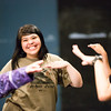 "RAHI student Jennifer Ruiz, 17, of Togiak, dances a tradtional Alaska Native Dance with the young women during dance class.  <div class=""ss-paypal-button"">Filename: AAR-12-3452-42.jpg</div><div class=""ss-paypal-button-end"" style=""""></div>"