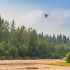 "An unmanned aerial vehicle (UAV) stands ready to collect video of important king salmon spawning habitat along a popular stretch of the upper Chena River about 40 miles northeast of Fairbanks. The project was a collaboration between the Alaska Center for Unmanned Aircraft Systems Integration (ACUASI) and the U.S. Fish and Wildlife Service.  <div class=""ss-paypal-button"">Filename: AAR-15-4593-348.jpg</div><div class=""ss-paypal-button-end""></div>"