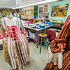 "Garments for the Theatre UAF production of Tartuffe are assembled in the costume room in the Fine Arts complex.  <div class=""ss-paypal-button"">Filename: AAR-14-4095-2.jpg</div><div class=""ss-paypal-button-end"" style=""""></div>"