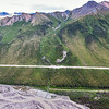 "This photo shows three of several frozen debris lobes which are moving at various speeds down the hillsides along the Dietrich River valley in the southern Brooks Range, posing a serious threat to the Dalton Highway and Trans-Alaska Pipeline.  <div class=""ss-paypal-button"">Filename: AAR-14-4219-105.jpg</div><div class=""ss-paypal-button-end""></div>"