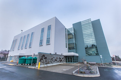 The Lena Point facility near Juneau is operated by UAF's School of Fisheries and Ocean Sciences.  Filename: AAR-14-4058-106.jpg