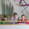 """Biology students Danielle Woodard, left, Tiffany Green and Robin Palmer study between classes in the Reichardt Building.  <div class=""""ss-paypal-button"""">Filename: AAR-12-3386-74.jpg</div><div class=""""ss-paypal-button-end"""" style=""""""""></div>"""