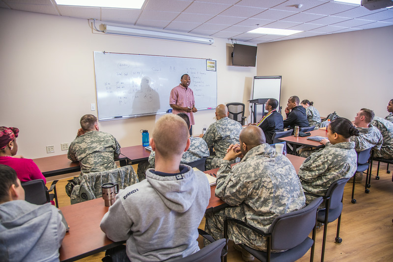 """Soldiers stationed at Fort Wainwright have access to college classes through the Education Center on base.  <div class=""""ss-paypal-button"""">Filename: AAR-14-4135-30.jpg</div><div class=""""ss-paypal-button-end""""></div>"""