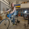"In Dillingham, students at UAF's Bristol Bay Campus learn to relate to how much energy it takes to power a light bulb with pedal power.  <div class=""ss-paypal-button"">Filename: AAR-12-3390-121.jpg</div><div class=""ss-paypal-button-end"" style=""""></div>"