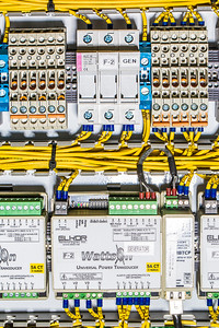 A test circuit board being utilized at the Alaska Center for Energy and Power.  Filename: AAR-13-3705-129.jpg
