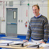 "Research manager Brent Sheets works with the Alaska Center for Energy and Power.  <div class=""ss-paypal-button"">Filename: AAR-11-3245-327.jpg</div><div class=""ss-paypal-button-end"" style=""""></div>"