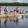 "Alaska Summer Research Academy participants test their remotely operated underwater vehicles at the Chena Lake Recreation Area on Thursday, July 28.  <div class=""ss-paypal-button"">Filename: AAR-16-4943-157.jpg</div><div class=""ss-paypal-button-end""></div>"