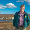 "Brian Barnes, director of UAF's Institute of Arctic Biology, poses on the hill above IAB's Toolik Field Station, about 330 miles north of Fairbanks on Alaska's North Slope in Sept, 2013.  <div class=""ss-paypal-button"">Filename: AAR-13-3929-346.jpg</div><div class=""ss-paypal-button-end""></div>"
