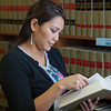 "Melissa Charlie conducts some research for her paralegal studies class in the law library at CTC's law library.  <div class=""ss-paypal-button"">Filename: AAR-11-3225-62.jpg</div><div class=""ss-paypal-button-end"" style=""""></div>"