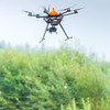 "An unmanned aerial vehicle (UAV) stands ready to collect video of important king salmon spawning habitat along a popular stretch of the upper Chena River about 40 miles northeast of Fairbanks. The project was a collaboration between the Alaska Center for Unmanned Aircraft Systems Integration (ACUASI) and the U.S. Fish and Wildlife Service.  <div class=""ss-paypal-button"">Filename: AAR-15-4593-337.jpg</div><div class=""ss-paypal-button-end""></div>"
