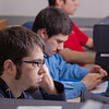 "Students in an introductory computer programming class work on some tricky code in the Chapman Building ASSERT lab.  <div class=""ss-paypal-button"">Filename: AAR-12-3272-81.jpg</div><div class=""ss-paypal-button-end"" style=""""></div>"