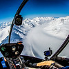 "A helicopter is used to access research sites on the Jarvis Glacier, about 35 miles south of Delta Junction. A UAF team is nvestigating future flow in rivers coming directly from glaciers, as bridges and road networks can be affected by varying water levels.  <div class=""ss-paypal-button"">Filename: AAR-13-3795-478.jpg</div><div class=""ss-paypal-button-end"" style=""""></div>"