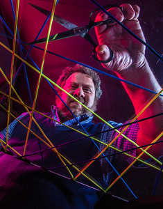 Physics professor David Newman has drawn national attention with his recent work on the susceptability of large systems, such as the nation's power grid, to catastrophic failure.  Filename: AAR-14-4150-32.jpg