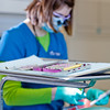 "Students in the CTC dental hygienist program practice cleaning teeth in their training facility in downtown Fairbanks.  <div class=""ss-paypal-button"">Filename: AAR-12-3308-105.jpg</div><div class=""ss-paypal-button-end"" style=""""></div>"