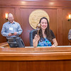 """Sarah Walker, a senior in UAF's rural development program from Bethel, has some fun with the gavel moments after posing with Speaker Mike Chenault in the House chambers during a weeklong seminar on understanding the legislative process in Juneau.  <div class=""""ss-paypal-button"""">Filename: AAR-14-4053-156.jpg</div><div class=""""ss-paypal-button-end"""" style=""""""""></div>"""