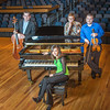 """From left to right, Bryant Hopkins, Ani Gyulamiryan, Trevor Adams and Franz Felkl performed as a quartet during the 2013 UAF Scholarship Breakfast.  <div class=""""ss-paypal-button"""">Filename: AAR-13-3764-75.jpg</div><div class=""""ss-paypal-button-end"""" style=""""""""></div>"""
