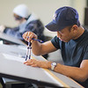 "Anthony Rogers completes the assignment in his drafting class in UAF's Community and Technical College.  <div class=""ss-paypal-button"">Filename: AAR-11-3221-97.jpg</div><div class=""ss-paypal-button-end"" style=""""></div>"
