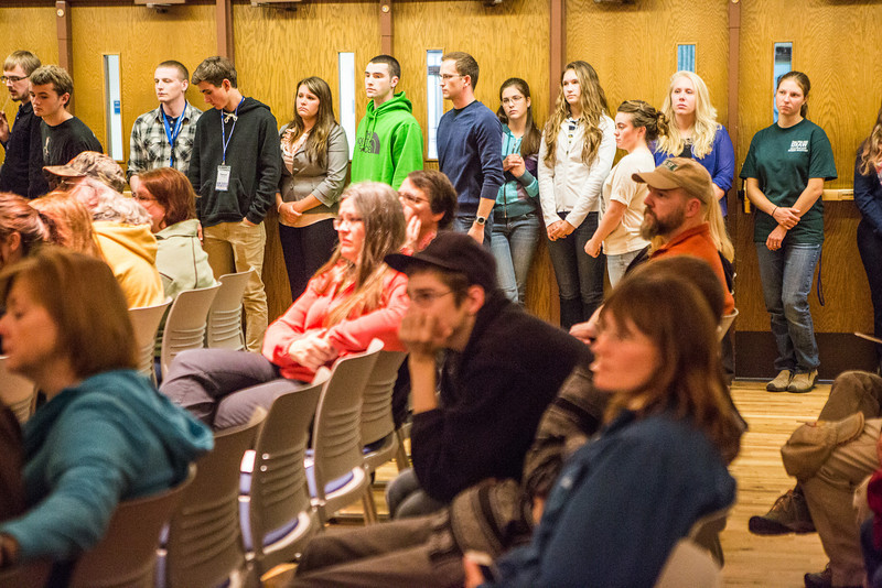 """Incoming honors students stand in line before receiving a certificate during the 2013 Honors Induction Ceremony.  <div class=""""ss-paypal-button"""">Filename: AAR-13-3923-27.jpg</div><div class=""""ss-paypal-button-end"""" style=""""""""></div>"""