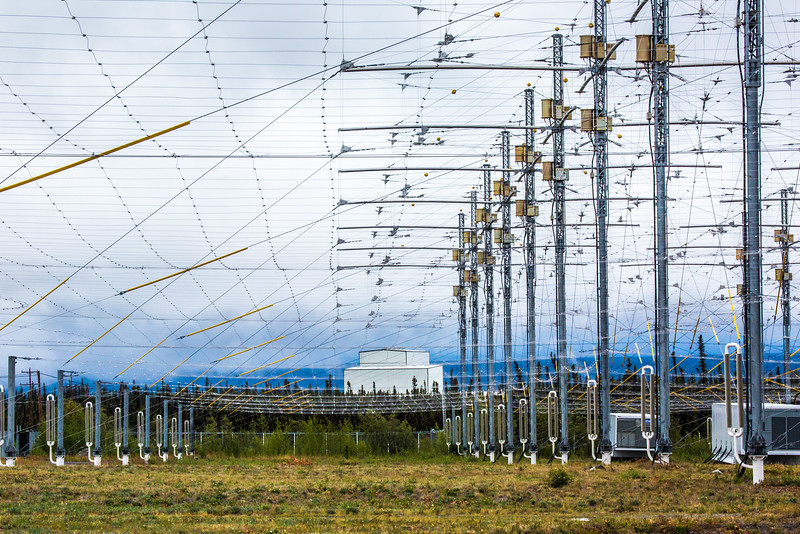 "The High Frequency Active Auroral Research Program (HAARP) facility near Gakona comprises a 40-acre grid of towers to  conduct research of the ionosphere. The facility was built and operated by the U.S. Air Force until Aug. 11, 2015, when ownership was transferred to UAF's Geophysical Institute.  <div class=""ss-paypal-button"">Filename: AAR-15-4600-116.jpg</div><div class=""ss-paypal-button-end""></div>"