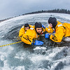 "Student firefighters practice cold-water rescue techniques at a pond near the Fairbanks campus.  <div class=""ss-paypal-button"">Filename: AAR-13-3797-26.jpg</div><div class=""ss-paypal-button-end"" style=""""></div>"