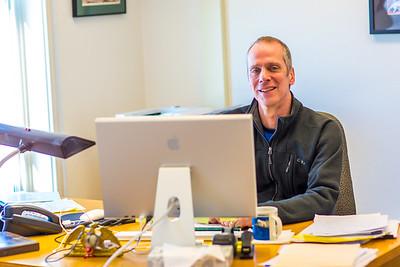 Bob Metcalf is the director of UAF's Northwest Campus in Nome.  Filename: AAR-16-4865-105.jpg