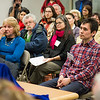"Tim Aqukkasuk Argetsinger listens to Michael E. Krauss during the dedication ceremony of the Alaska Native Language Archive Feb. 22, 2013, at the Rasmuson Library.  <div class=""ss-paypal-button"">Filename: AAR-13-3743-60.jpg</div><div class=""ss-paypal-button-end"" style=""""></div>"