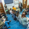 """Students from UAF's Alaska Native Studies and Rural Development program meet with Representative Tammie Wilson during their weeklong seminar on Understanding the Legislative Process in the state capital of Juneau.  <div class=""""ss-paypal-button"""">Filename: AAR-14-4053-189.jpg</div><div class=""""ss-paypal-button-end"""" style=""""""""></div>"""