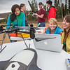 "Students take part in a project using unmaned aerial vehicles (UAVs) at Poker Flat Research Range about 40 miles northeast of the Fairbanks campus. (Note: Taken as part of commercial shoot with Nerland Agency. Pretend class -- use with discretion!)  <div class=""ss-paypal-button"">Filename: AAR-12-3560-051.jpg</div><div class=""ss-paypal-button-end"" style=""""></div>"