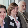 """UAF student Zhijin Chen (left) and Farra Smith (right) attend the Etiquette Lunch hosted by the school of management to teach students about business manners.  <div class=""""ss-paypal-button"""">Filename: AAR-12-3318-25.jpg</div><div class=""""ss-paypal-button-end"""" style=""""""""></div>"""