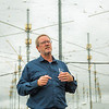 "Facility Manager Marty Karjala describes the processes underway at the High Frequency Active Auroral Research Program (HAARP) facility in Gakona before its official transfer of ownership from the U.S. military to UAF's Geophysical Institute.  <div class=""ss-paypal-button"">Filename: AAR-15-4600-215.jpg</div><div class=""ss-paypal-button-end""></div>"