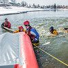 "Staff members and graduate students from the Water and Environmental Research Center (WERC) and the Institute of Northern Engineering (INE) receive swiftwater rescue and safety training in the Chena River.  <div class=""ss-paypal-button"">Filename: AAR-13-3813-105.jpg</div><div class=""ss-paypal-button-end"" style=""""></div>"