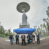 "Chancellor Rogers, along with Nettie La Belle-Hamer and officials with NASA and the Goddard Space Flight Training Center, celebrated the grand opening of the Alaska Satellite Facility's new 11-meter antennae on UAF's West Ridge Thursday afternoon.  <div class=""ss-paypal-button"">Filename: AAR-14-4221-23.jpg</div><div class=""ss-paypal-button-end""></div>"