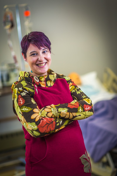 """Katie Elanna is studying nursing at UAF's Northwest Campus in Nome.  <div class=""""ss-paypal-button"""">Filename: AAR-16-4865-389.jpg</div><div class=""""ss-paypal-button-end""""></div>"""