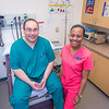 """CTC medical assisting students Millicent Flannel, right, and Greg Parker alternate taking each other's vital signs during a training exercise at the program's facility on Barnette Street in downtown Fairbanks.  <div class=""""ss-paypal-button"""">Filename: AAR-16-4873-333.jpg</div><div class=""""ss-paypal-button-end""""></div>"""