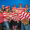 "School of Management Dean Mark Hermann, front and center, joined several members of his administrative staff in a Where's Waldo exercise for a Political Economy class.  <div class=""ss-paypal-button"">Filename: AAR-12-3621-71.jpg</div><div class=""ss-paypal-button-end"" style=""""></div>"