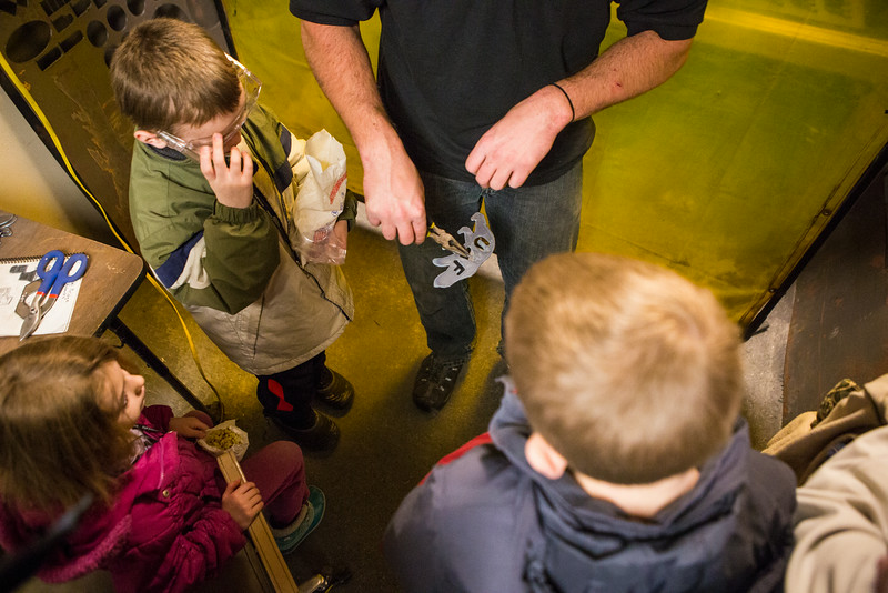 """Children are given a chance to explore during the annual Eweek open house in the Duckering Building on campus.  <div class=""""ss-paypal-button"""">Filename: AAR-14-4081-31.jpg</div><div class=""""ss-paypal-button-end""""></div>"""
