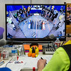 """High school students from throughout Alaska squared off in the Patty Gym in February for an annual robotics competition.  <div class=""""ss-paypal-button"""">Filename: AAR-14-4110-47.jpg</div><div class=""""ss-paypal-button-end""""></div>"""