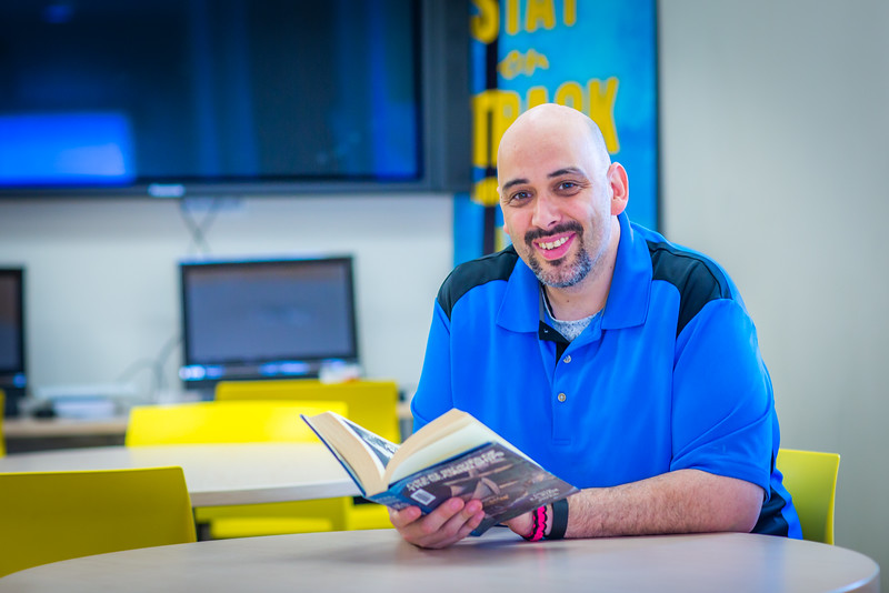 """Local resident Charles Marble is working toward a degree in justice at UAF's Northwest Campus in Nome.  <div class=""""ss-paypal-button"""">Filename: AAR-16-4865-435.jpg</div><div class=""""ss-paypal-button-end""""></div>"""