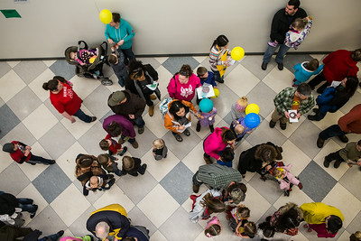 The Science Potpourri event draws children and their parents to explore fields of science at the Reichardt Building.  Filename: AAR-14-4141-175.jpg
