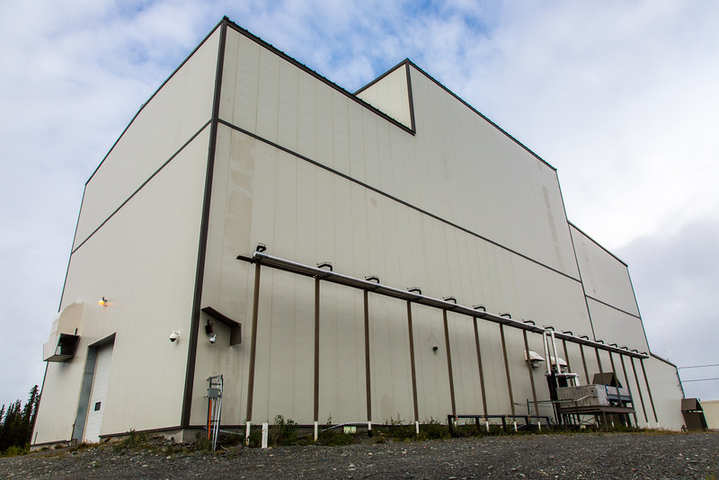 """This is the power plant at the High Frequency Active Auroral Research Program (HAARP) facility in Gakona. The facility was built and operated by the U.S. military before its official transfer to UAF's Geophysical Institute in August 2015.  <div class=""""ss-paypal-button"""">Filename: AAR-15-4600-003.jpg</div><div class=""""ss-paypal-button-end""""></div>"""