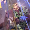 "Petroleum engineering students Tom Polasek, right, and Justin Calkins build a permafrost simulation chamber in a Duckering Building lab. The project seeks to monitor the effects of heat from the wells and prevent the thawing of permafrost on Alaska's North Slope oil fields.  <div class=""ss-paypal-button"">Filename: AAR-14-4076-11.jpg</div><div class=""ss-paypal-button-end""></div>"