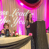 "Rebecca Leivdal, president of UAF's Associated Students of Business, addresses the audience during the annual SOM Business Leader of the Year banquet honoring this year's winner Lorna Shaw.  <div class=""ss-paypal-button"">Filename: AAR-14-4154-164.jpg</div><div class=""ss-paypal-button-end""></div>"